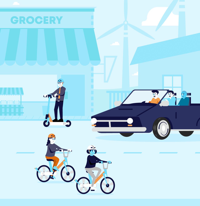ECC Animation Ridesharing